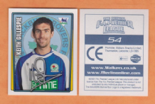Blackburn Rovers Keith Gillespie Northern Ireland 54 (Walkers)